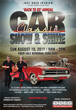 Back to '63 Classic Car Show and Shine @ Ebbw Vale Memorial Park Oval